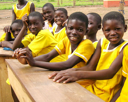 Chalice outdoor classroom in Ghana