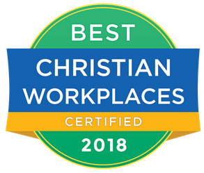 best christian workplaces certified 2018