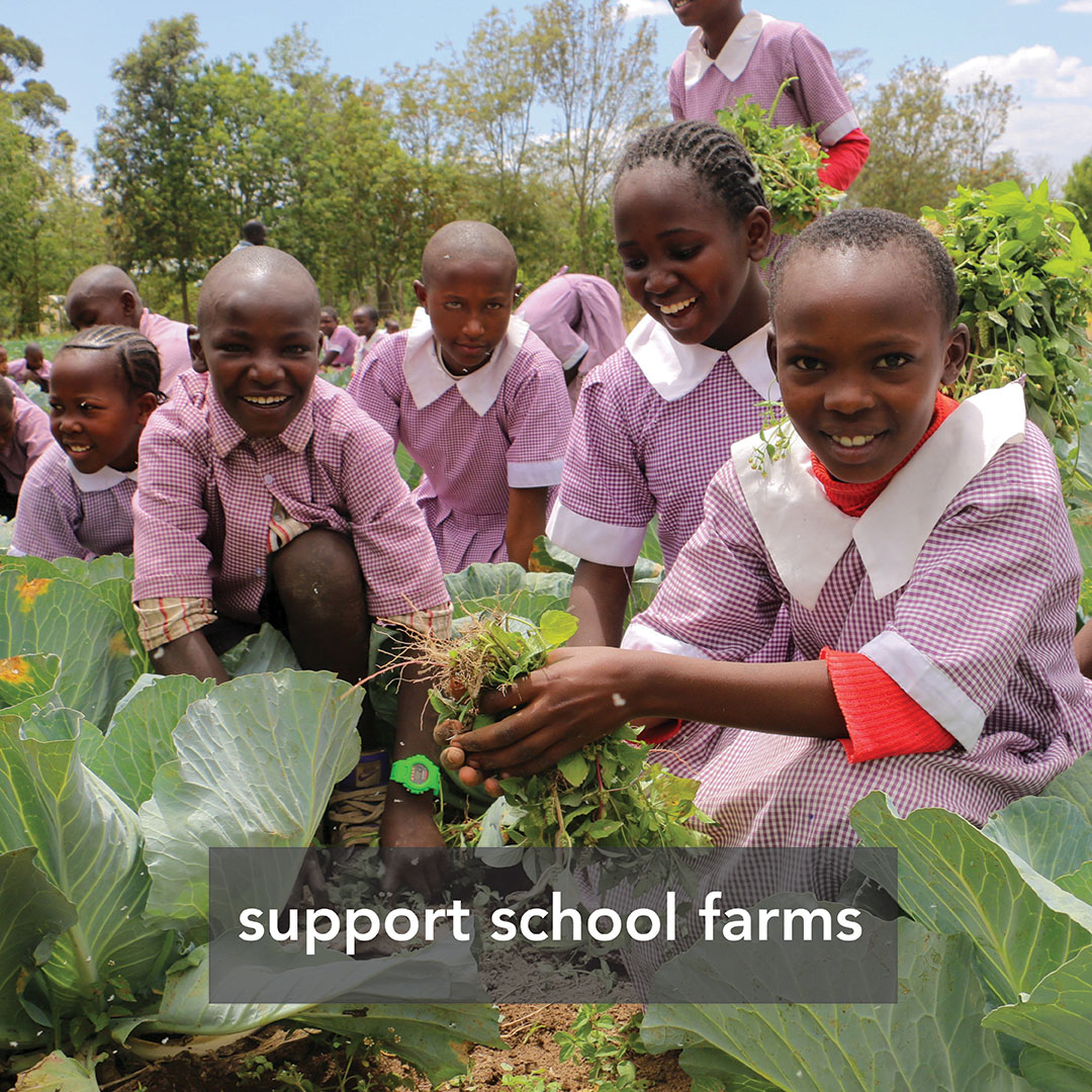 Support school farms
