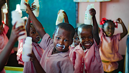 Chalice children nutrition- Haiti north breakfast program